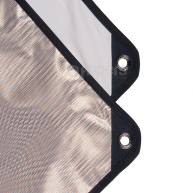 Panel reflector Aurora 2in1 100x180cm sunlight / white