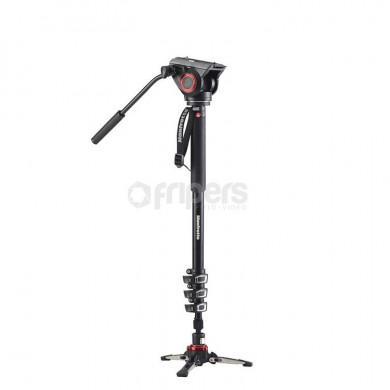 Aluminium Video Monopod Manfrotto MVMXPRO500 XPRO Four-Section, Video Head