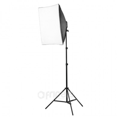 Continuous light kit FreePower with softbox 60x60