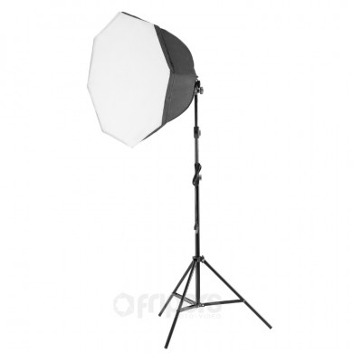 Continuous light kit Video Basic Octa with octa softbox and bag light stand