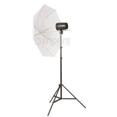 Flash Lamp Kit Jinbei Delicacy SOLO II with umbrellas
