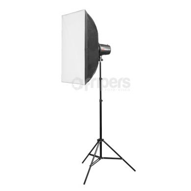 Flash Lamp Kit Jinbei Delicacy SOLO IV with softboxes