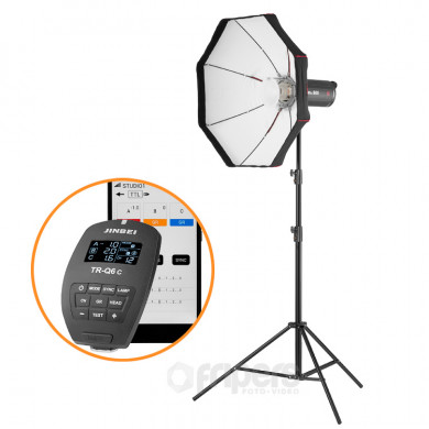 Flash lighting kit ARTPOWER with Jinbei MSNIII series lamp