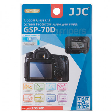 JJC Screen Protector Canon 70D Optical Glass LCD