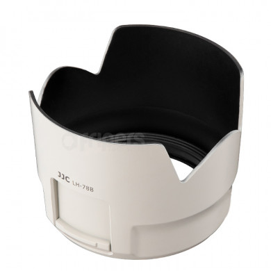 Lens Hood JJC LH-78B White for Canon