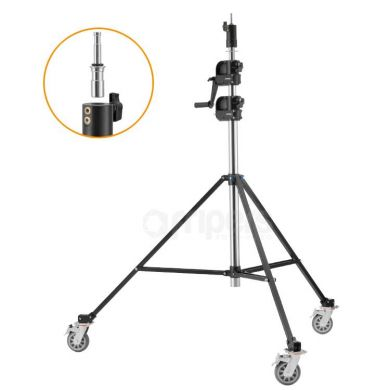 Light Stand Jinbei 405 cm BM-395 with hand lift