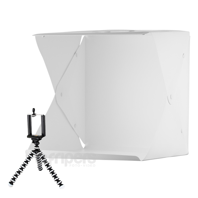 LED Light tent FreePower 40cm USB with 4 backgrounds and tripod