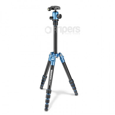 Photo Tripod Manfrotto Element Traveller Small blue, with ball head