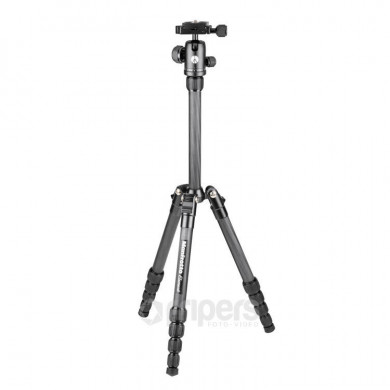 Photo Tripod Manfrotto Element Traveller Small Carbon, with ball head