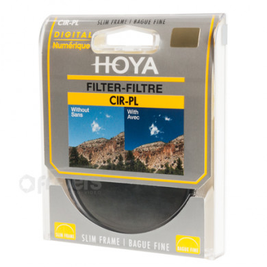 Polarising Filter HOYA CIR-PL Slim 43mm