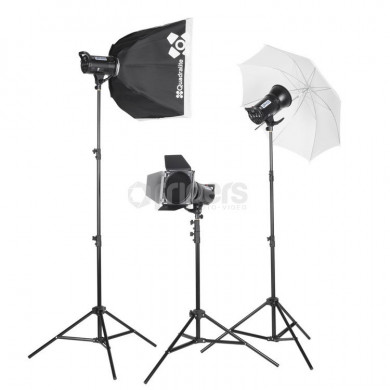 Studio flash lamp Quadralite Up! 400 Kit