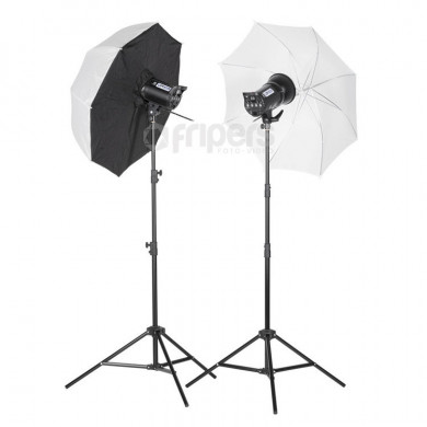 Studio flash lamp Quadralite Up! 600 Kit
