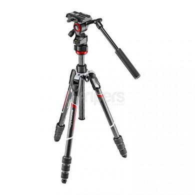 Tripod Manfrotto BEFREE MVKBFRTC-LIVE carbon, with 400AH head