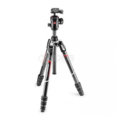 Tripod Manfrotto BEFREE GT carbon, with MH496-BH head