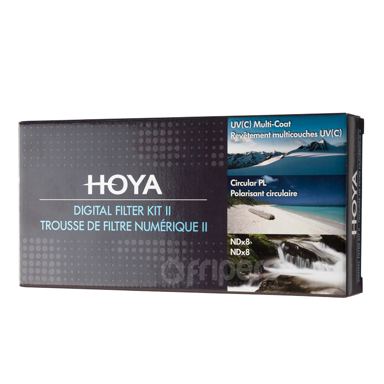 HOYA Digital Filter KIT HOYA UV (C), CIR-PL, ND8 49mm